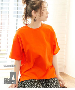 【SEABREEZE×ROPE' PICNIC】カラーTシャツ