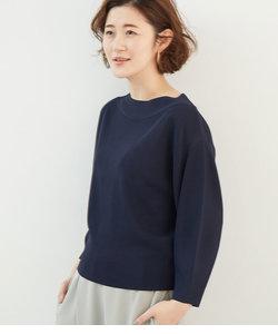 【UVケア】コクーン袖ボートネックプルオーバー