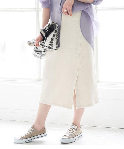 【セットアップ対応】アシメカットスカート