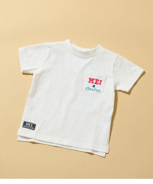 【ROPE' PICNIC KIDS】【MEI×Cleofus】バックプリントTシャツ