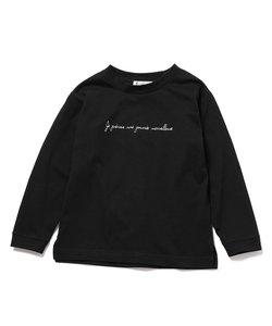 【ROPE' PICNIC KIDS】ロゴロングTシャツ