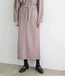 【emur】ロングリラックススカート