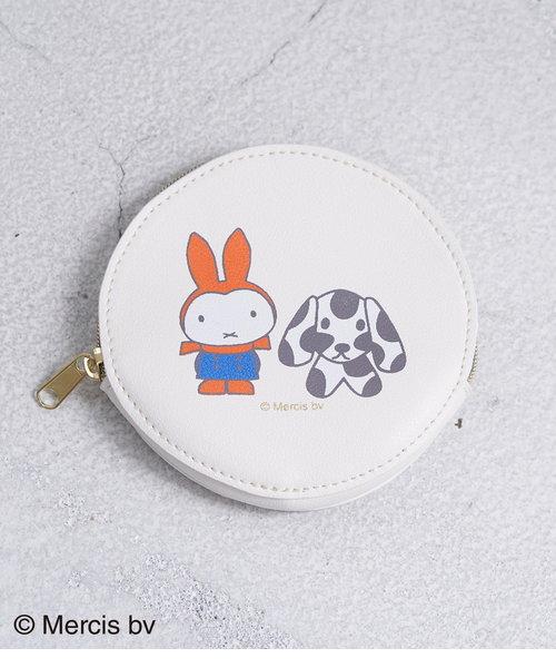 【miffy×ROPE' PICNIC】サークルポーチ