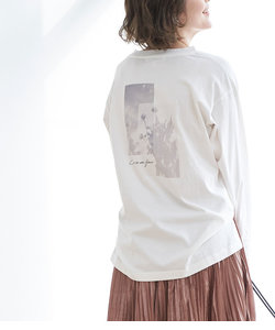 アソート柄ロングTシャツ