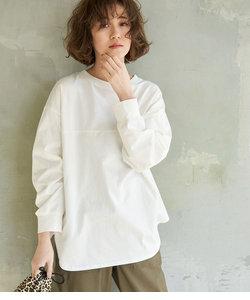 【ORGABITS】フロント切替ロングTシャツ