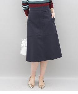 ダブルポケットトラペーズスカート