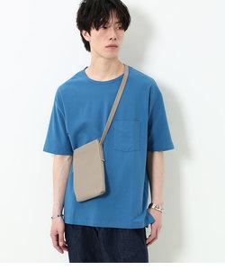 ADDICT コットン梨地Tシャツ