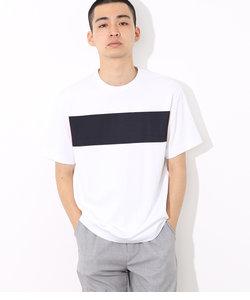 ポンチラインプリントTシャツ