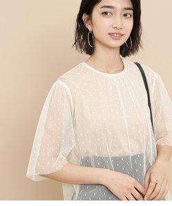 ドットチュールTシャツ