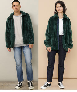 【Champion 別注】Sherpa Fleece Boa Coach Jacket