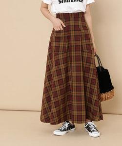 ポケット付ロングスカート
