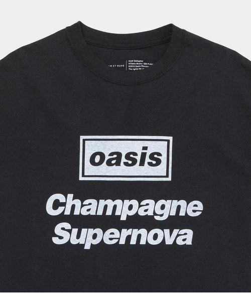 【oasis for ADAM ET ROPE'】SONG LYRICS T-shirt(長袖)