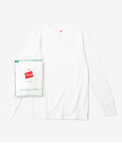 【Hanes FOR BIOTOP】LONG SLEEVE THERMAL