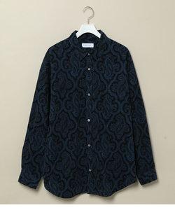 オーバーサイズアソートパターンドシャツ