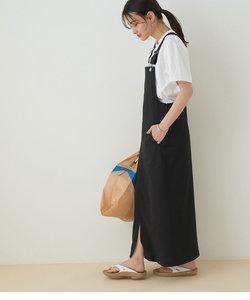<洗える>【WEB限定】ジャンパースカート