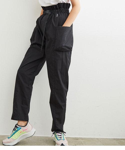 【撥水&UV】ハイウエストカーゴパンツ