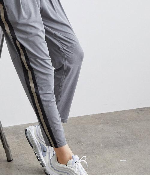 【24H快適】UV&接触冷感 ライン配色パンツ
