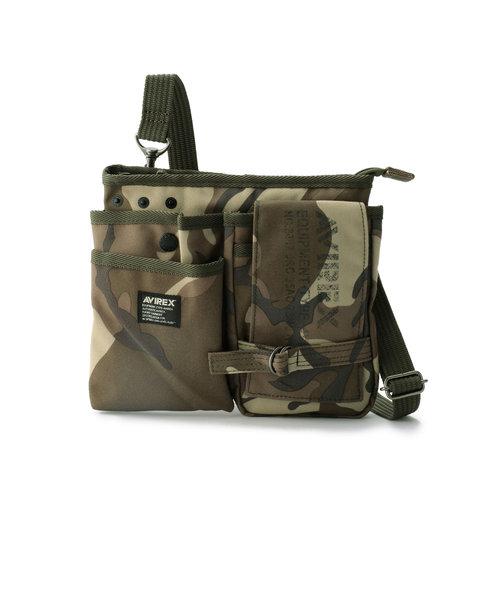 AVX342/ポリエステル ウエスト バッグ/ WEIST BAG