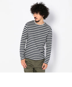 デイリー クルーネック ボーダー ティーシャツ/ DAILY CREW NECK BORDER T-SHIRT