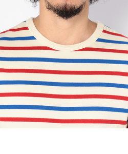 デイリー 3/4スリーブ クルーネック ボーダー ティーシャツ/ DAILY 3/4SLEEVE CREW NECK BORDER T-SHIRT
