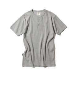AVIREX/アヴィレックス/デイリー 半袖 へンリーネック Tシャツ/DAILY S/S HENLEY NECK-T-SHIRT