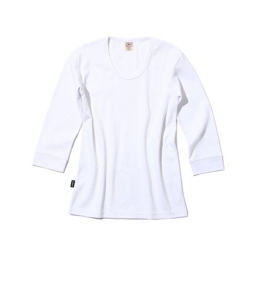 デイリー 2/3 スリーブ Uネック ティーシャツ/ DAILY 2/3 SLEEVE U-NECK T-SHIRT