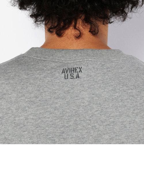 デイリー ロングスリーブ クルーネック スウェット ロゴ/ DAILY L/S CREW NECK SWEAT LOGO
