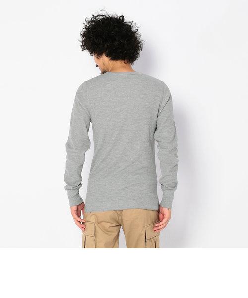 デイリー ロングスリーブ サーマル ヘンリーネック ティーシャツ/ DAILY L/S THERMAL HENLY NECK T-SHIRT