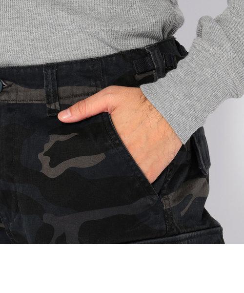 カモフラージュ ファティーグ クロップド パンツ/ CAMOUFLAGE FATIGUE CROPPED PANTS