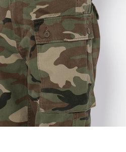 カモフラージュ エアロ ファティーグ クロップド パンツ/ CAMOUFLAGE BU AERO FATIGUE CROPPED PANTS