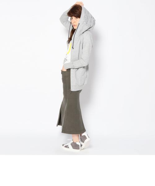 直営店限定/ ステンシル プリント パーカー/ STENCIL PRINT PARKA