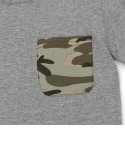 【KID'S/キッズ】迷彩 ポケットTシャツ/ CAMOUFLAGE POCKET T-SHIRT