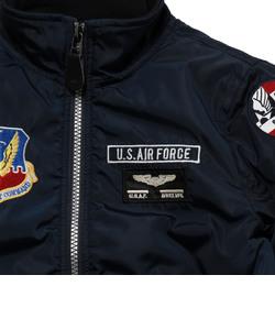 avirex/ アヴィレックス/ KIDS 70th TYPE MA-1/ U.S.A.F.70周年記念 キッズ タイプMA-1