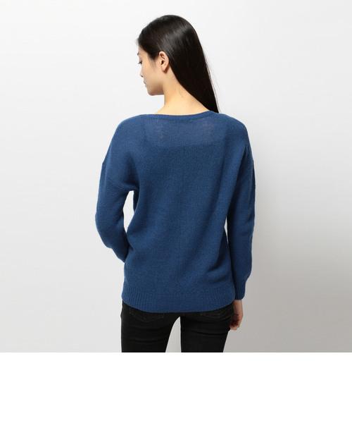 avirex/アヴィレックス/ Pure Wool Knit/ピュア ウールニット