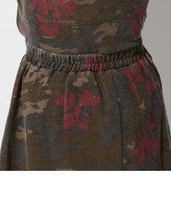 avirex/ アヴィレックス/CAMO GATHER SKIRT/カモ柄 ギャザースカート