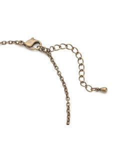 AVN017/ロゴリング ネックレス ゴールド