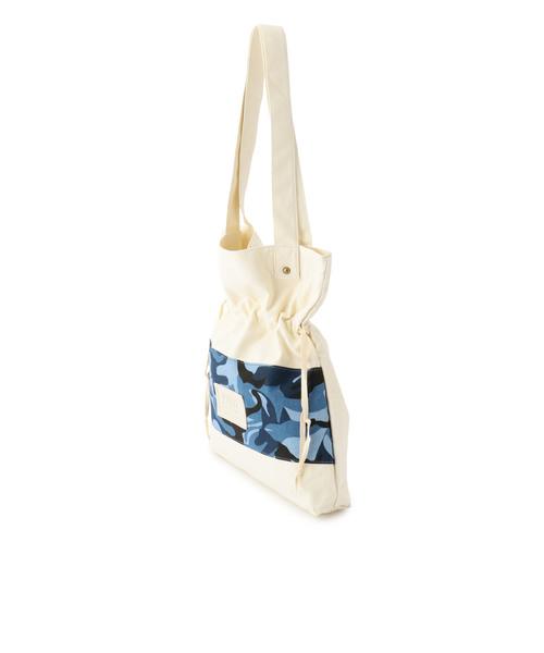 avirex/ アヴィレックス/カモ コンビ ギャザー バッグ/<br>CAMO COMBI GATHER BAG