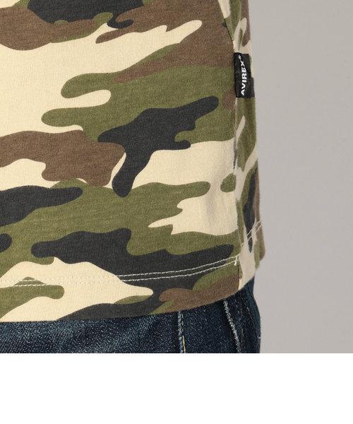 AVIREX/アヴィレックス/迷彩 ファティーグ Tシャツ/CAMOUFLAGE FATIGUE T-SHIRT