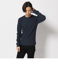 ロングスリーブ ワッフル クルーネック ティーシャツ/ L/S WAFFLE CREW NECK T-SHIRT