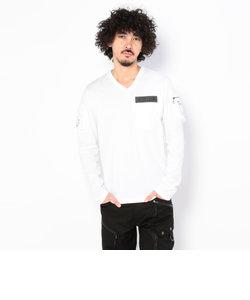 直営店限定/ ファティーグ 長袖 Vネック Tシャツ/ FATIGUE L/S V-NECK T-SHIRT/