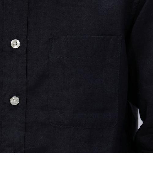 avirex/アヴィレックス/ 長袖 リネン ボタンダウンシャツ /L/S LINEN B.D SHIRT