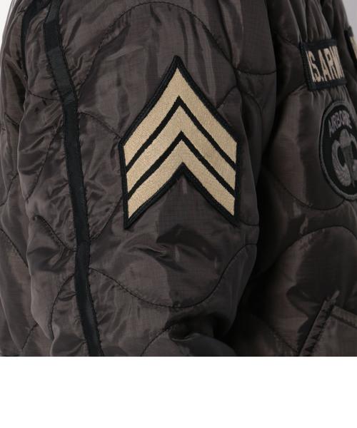 キルト アーミー ジャケット/ QUILTED ARMY JACKET
