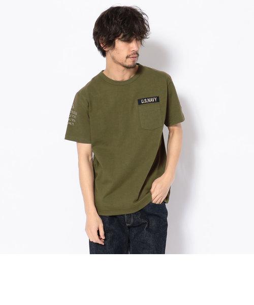 ネーヴァル パッチ Tシャツ/NAVAL PATCH T-SHIRT
