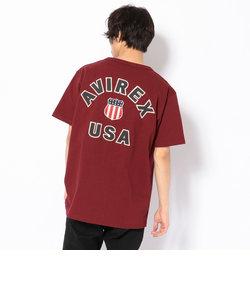 AVIREX/アヴィレックス/半袖 バーシティー Tシャツ/S/S SIGNATURE VARSITY T-SHIRT