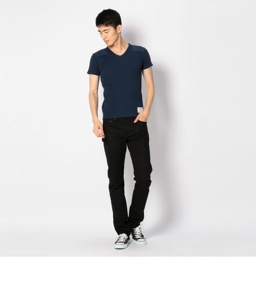 リブ コマンド Vネック Tシャツ/RIB S/S COMMAND V-NECK T-SHIRT