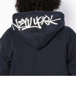 フリース ライニング ニューヨーク スウェット パーカー/ FLEECE LINING N.Y. SWEAT PARKA