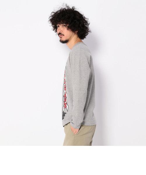 ロングスリーブ ストレッチ リブ ティーシャツ AVX/ L/S STRETCH RIB T-SHIRT AVX