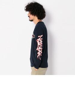 ロングスリーブ ストレッチ リブ ティーシャツ ニューヨーク/ L/S STRETCH RIB T-SHIRT NEW YORK