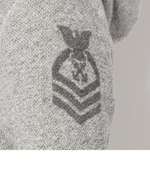 長袖 ネーヴァル ヴィンテージ スウェット パーカー/ L/S NAVAL VINTAGE SWEAT PARKA