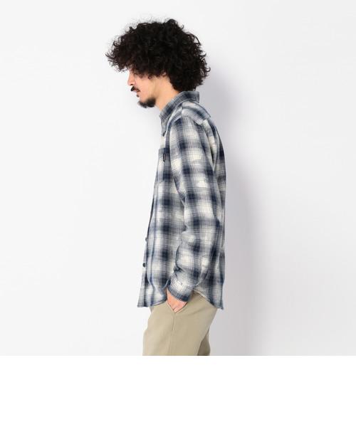 ロングスリーブ 迷彩 コンビネーション チェックシャツ/ L/S CAMO COMBINATION CHECK SHIRT